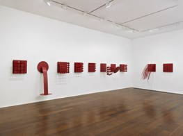 "Lygia Pape<br><em>Solo Exhibition</em><br><span class=""oc-gallery"">Hauser & Wirth</span>"