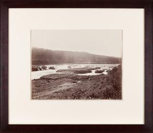 Willamette Falls, Oregon City by Carleton E. Watkins contemporary artwork