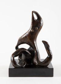 Le Ruban by Henri Laurens contemporary artwork sculpture