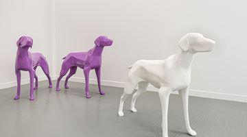 Contemporary art exhibition, Xavier Veilhan, Dogs at Andréhn-Schiptjenko, Paris