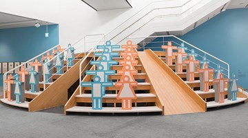 Contemporary art exhibition, Hong Seung-Hye, Point·Line·Plane at Kukje Gallery, Seoul