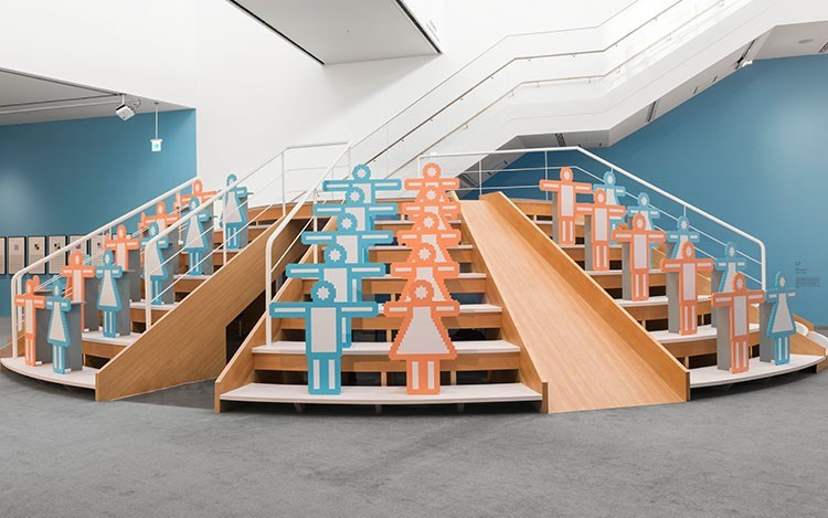 Hong Seung-Hye, Point·Line·Plane, Exhibition view at Seoul Museum of Art, Buk-Seoul Museum of Art's Children's Gallery. Image courtesy of Kukje Gallery, Seoul.