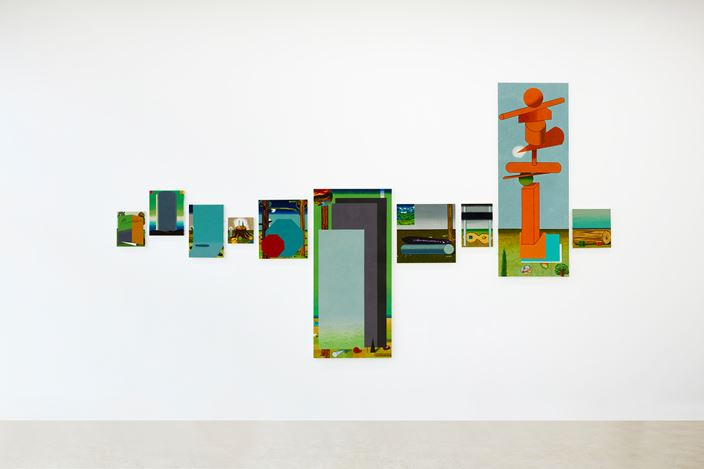 Exhibition view: Hyunsun Jeon, From Fig to Cone, Gallery2, Seoul (15 October–14 November 2020). Courtesy Gallery2.
