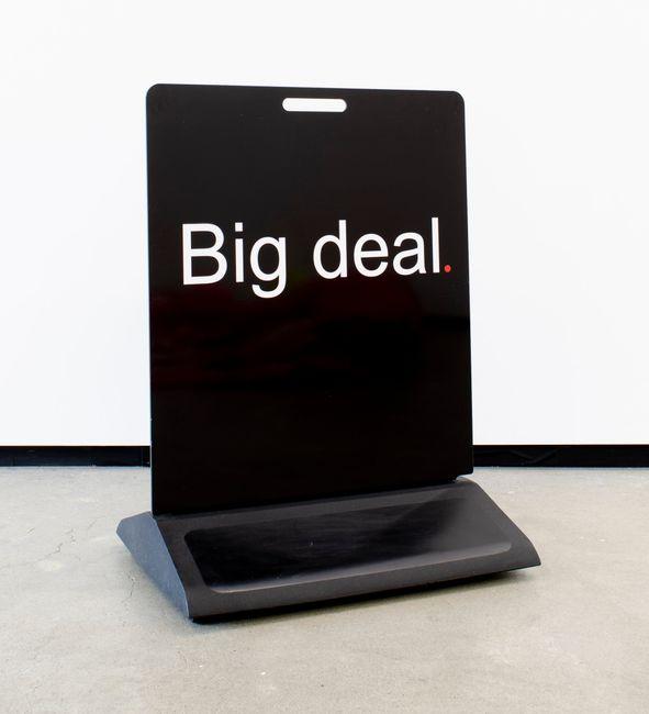 Big Deal by Elisabeth Pointon contemporary artwork