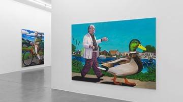 Contemporary art exhibition, Merlin Carpenter, Merlin Carpenter at Simon Lee Gallery, London