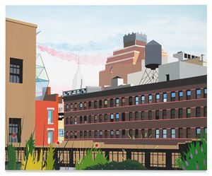 High Line by Brian Alfred contemporary artwork