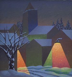 Dicembre by Salvo contemporary artwork