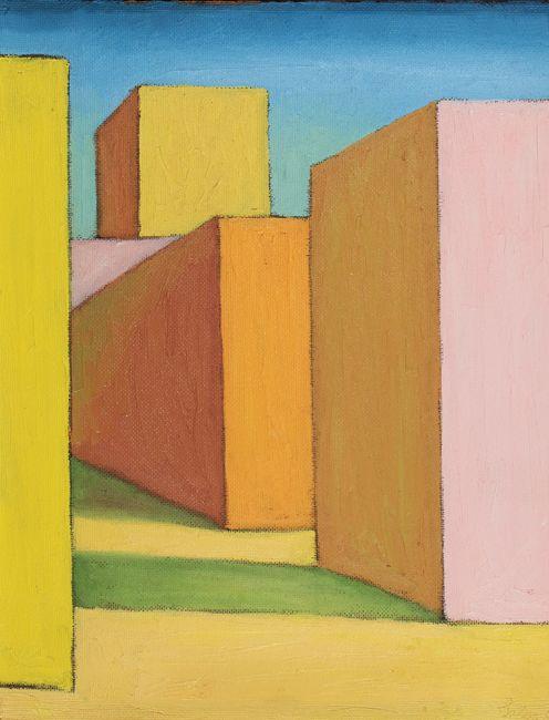 City by Salvo contemporary artwork