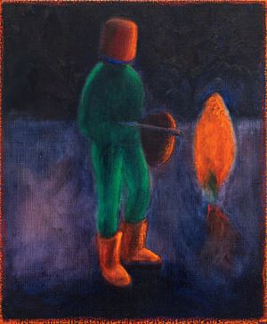 Sci-fi Roman by William Bennett contemporary artwork