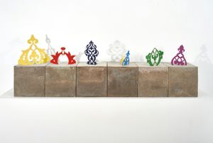 Mauvaise graine by Zoulikha Bouabdellah contemporary artwork