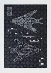 Te Hōkioi by Brett Graham contemporary artwork print