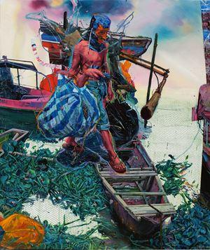 Sakag by Ronson Culibrina contemporary artwork