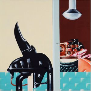 Aereodyn by Sergio Sarri contemporary artwork painting