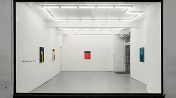 Contemporary art exhibition, Matt Connors, Not Straight at Herald St, London