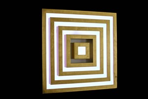 s50 Custom Gold by Visual System contemporary artwork