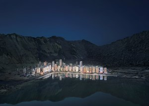 Stadt am See by Thomas Wrede contemporary artwork