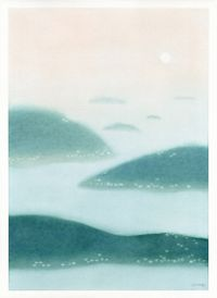 Sunrise by Carmen Ng contemporary artwork painting, works on paper, drawing