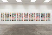 The World Flag Ant Farm 2020 by Yukinori Yanagi contemporary artwork sculpture
