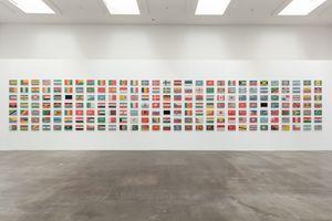 The World Flag Ant Farm 2020 by Yukinori Yanagi contemporary artwork