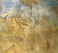 Golden Future by Adger Cowans contemporary artwork painting