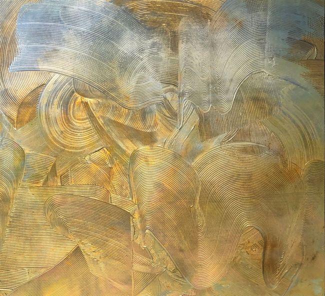 Golden Future by Adger Cowans contemporary artwork