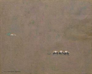 Transplanting Rice Seedlings by Yeh Shih-Chiang contemporary artwork
