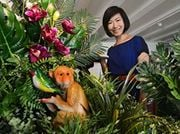 Local talents showcase their works at Singapore Art Week