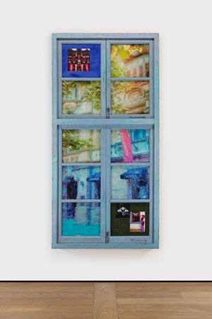 Tetris Window · Ampire Foreign Firm by Li Qing contemporary artwork