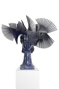 Blue Ivy by Manolo Valdés contemporary artwork sculpture