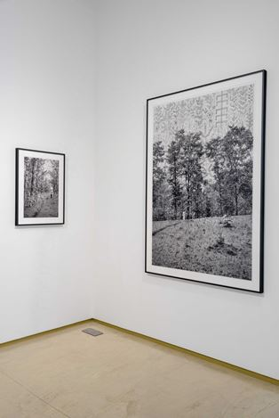 Gauri Gill, from the series Places, Traces, 1999-ongoing, Exhibition view.