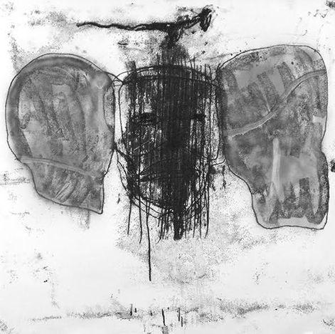 GérardAlary,691 (2019) (detail). Ink on paper. 140 x 140 cm. Courtesythe artist.