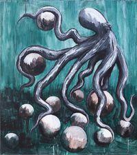 Coast in the Strange Seduction 在陌生的诱惑中滑行 by Chen Xiaoyun contemporary artwork painting