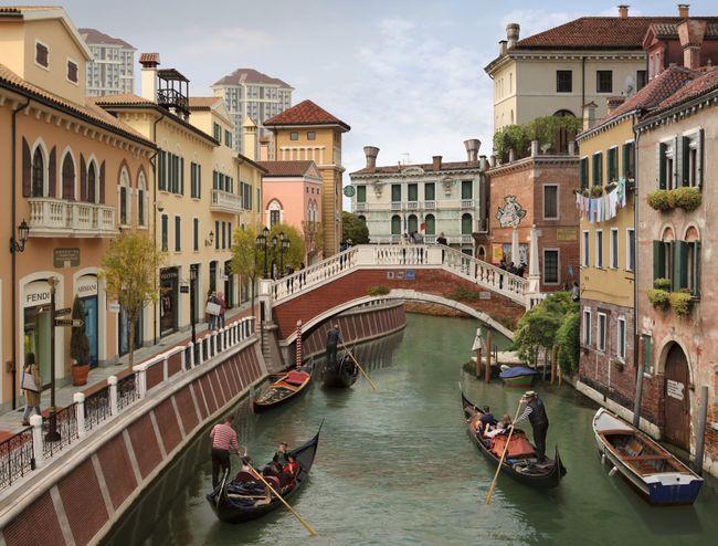 Venezia Land (after Bellini) by Emily Allchurch contemporary artwork