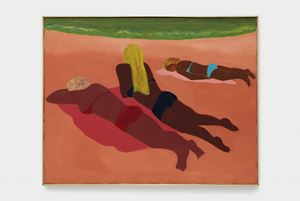 Sun Worshippers by March Avery contemporary artwork painting