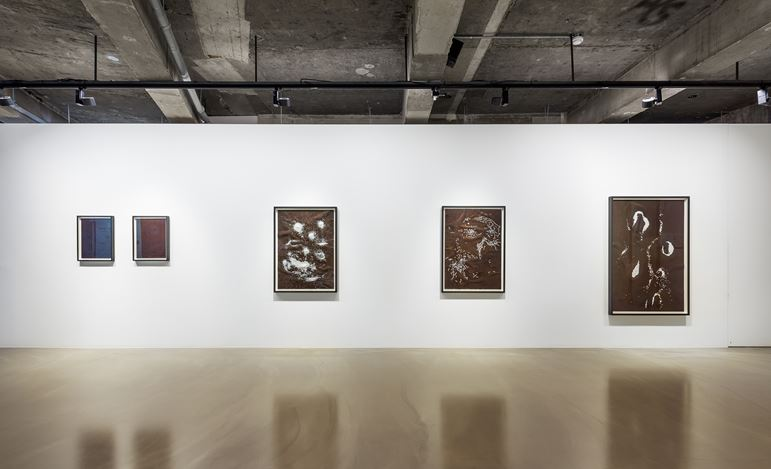 Exhibition view: Koh San Keum, Infinite Tolerance, Gallery Baton, Seoul (30 August–2 October 2019). Courtesy Gallery Baton. Photo: Jeon Byung Cheol