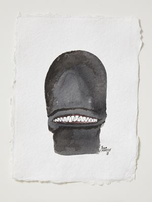Head[case] working drawing 43 by Julia Morison contemporary artwork