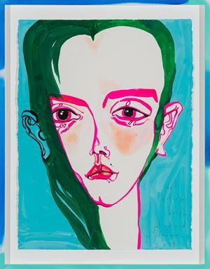 i just noticed yr rainbow by Del Kathryn Barton contemporary artwork