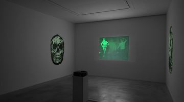 Contemporary art exhibition, Tony Oursler, Le Volcan, Poetics Tattoo & UFO at Dep Art Gallery, Milan