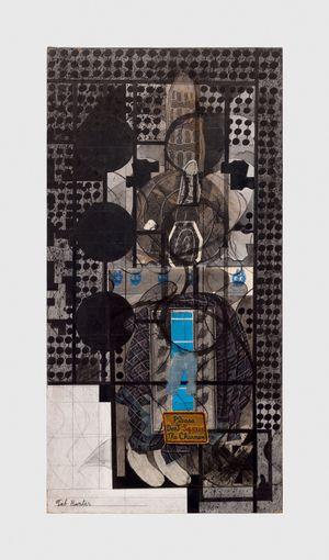 Untitled (Tab Hunter) by Ray Johnson contemporary artwork