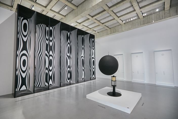 Exhibition view: The Shape of Time - Highlights of the Centre Pompidou Collection Vol. 1, West Bund x Centre Pompidou Shanghai (8 November 2019–9 May 2021). Courtesy West Bund x Centre Pompidou Shanghai.
