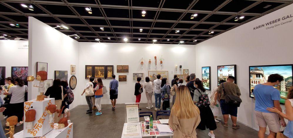 Karin Weber Gallery, Art Central 2021 (20–23 May 2021). CourtesyKarin Weber Gallery, Hong Kong.