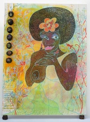 Blossom by Chris Ofili contemporary artwork
