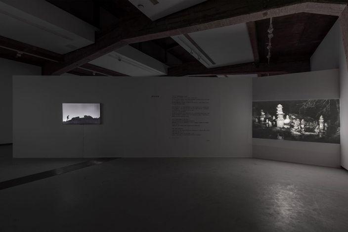 Exhibition view: Cheng Xinhao, Floating Wood and Drowning Stone, Tabula Rasa Gallery, Beijing (4 September–29 October 2021).CourtesyTabula Rasa Gallery.