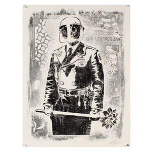 My Florist is a D*ck by Shepard Fairey contemporary artwork