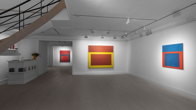 Exhibition view: Perle Fine, The Cool Series, Gazelli Art House, London (3 December 2020–28 February 2021). Courtesy Gazelli Art House.