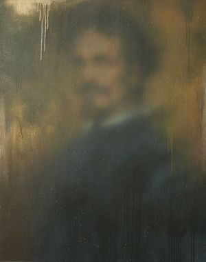 PORTRAIT OF A NOBLEMAN by Miaz Brothers contemporary artwork