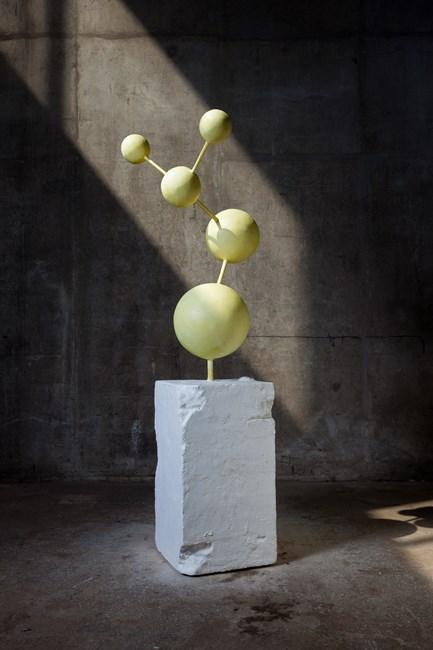Happy Molecule by Atelier Van Lieshout contemporary artwork