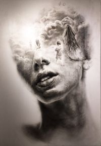 Dry Your Eyes by Igor Dobrowolski contemporary artwork painting, works on paper, sculpture