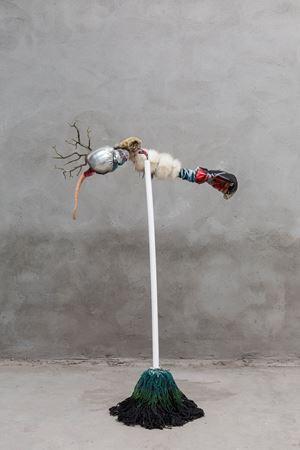 Mop Boxer by Tong Kunniao contemporary artwork