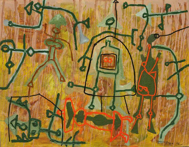 Alluvial Memories by Le Trieu Dien contemporary artwork